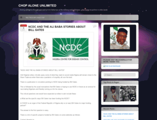 politicalnigeria.wordpress.com screenshot