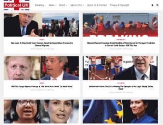 politicaluk.com screenshot