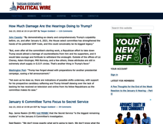 politicalwire.com screenshot