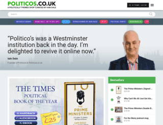 politicos.co.uk screenshot
