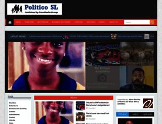politicosl.com screenshot