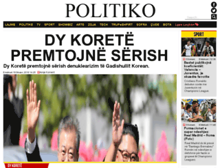 politiko.net screenshot
