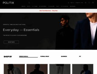 politix.com.au screenshot