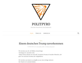 politpyro.de screenshot