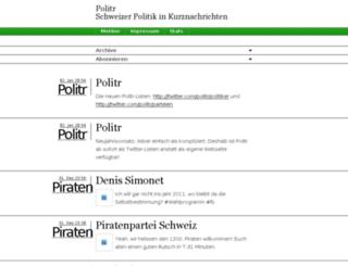 politr.ch screenshot