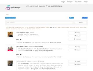 politwoops.co.uk screenshot