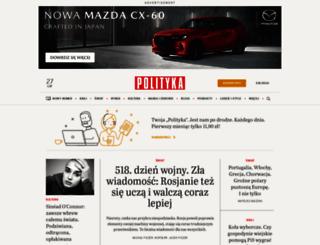 polityka.pl screenshot