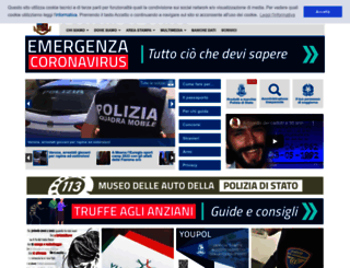 poliziadistato.it screenshot