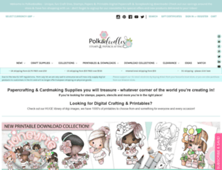 polkadoodles.co.uk screenshot