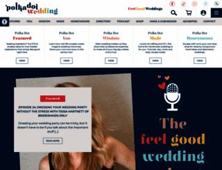 polkadotbride.com screenshot