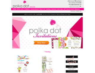 polkadotdesign.com screenshot