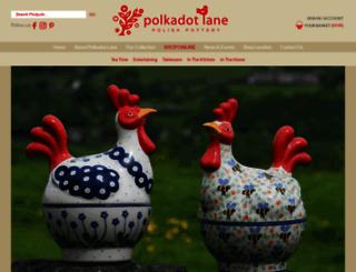 polkadotlane.co.uk screenshot