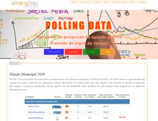 pollingdata.com.br screenshot