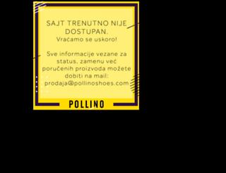 pollinoshoes.com screenshot