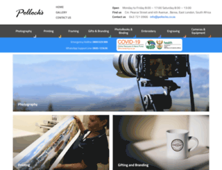 pollocks.co.za screenshot