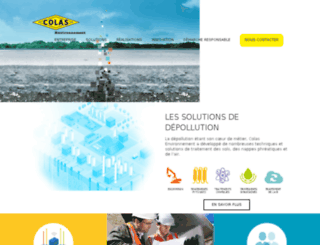 pollution-service.com screenshot