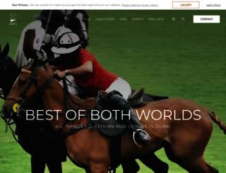 poloclubdubai.com screenshot