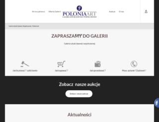 polonia-art.pl screenshot
