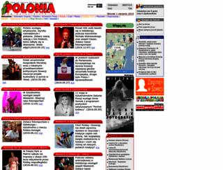 poloniainfo.se screenshot