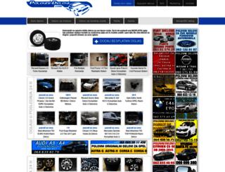 polovni-delovi.com screenshot