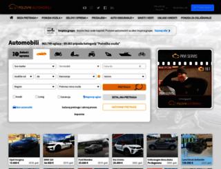 polovniautomobili.com screenshot