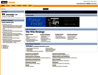 polprod.parker.com screenshot