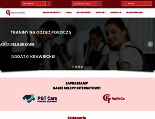 polskagrupatekstylna.pl screenshot