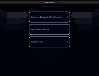 polsterstoffe24.de screenshot