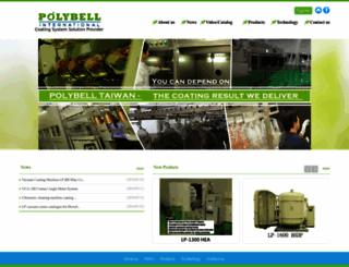 polybell.com.tw screenshot