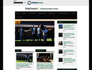 polycentric.cpp.edu screenshot