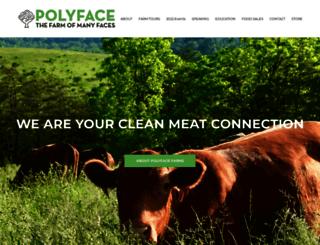 polyfacehenhouse.com screenshot