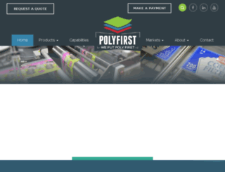 polyfirst.lanexdev.com screenshot
