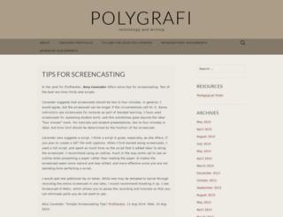 polygrafi.wordpress.com screenshot
