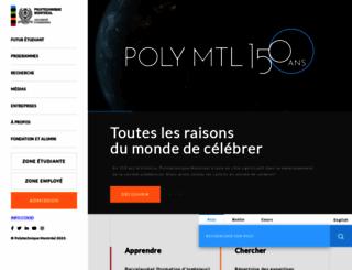 polymtl.ca screenshot