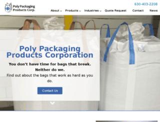 polypackagingproducts.com screenshot