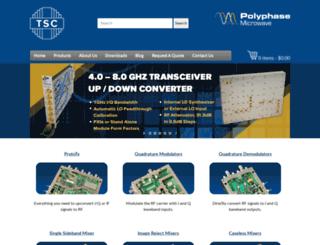 polyphasemicrowave.com screenshot