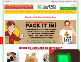 polypostalpackaging.com screenshot