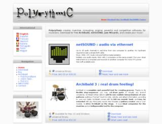 polyrythmic.org screenshot