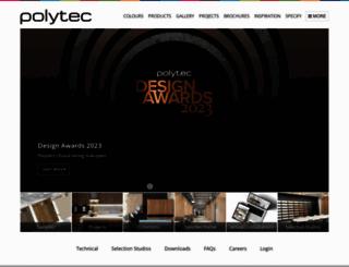 polytec.com.au screenshot