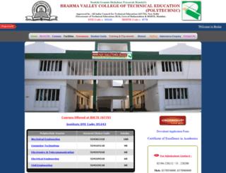 polytechnic.brahmavalley.com screenshot