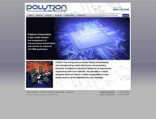 polytron-corp.com screenshot