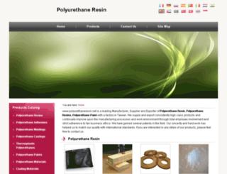 polyurethaneresin.net screenshot