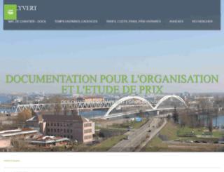 polyvert.u-strasbg.fr screenshot