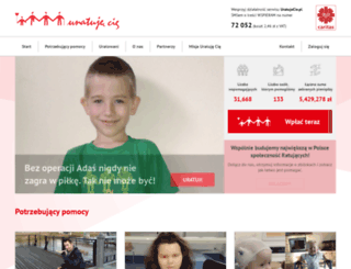 pomagam.caritas.pl screenshot