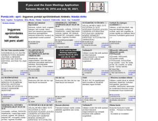 pomaz.info screenshot