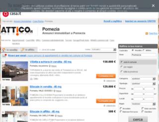 pomezia.attico.it screenshot