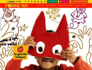 pommedapi.com screenshot