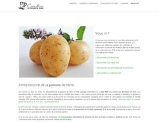 pommesdeterre-caracteres.fr screenshot