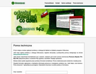 pomoc.franmo.pl screenshot