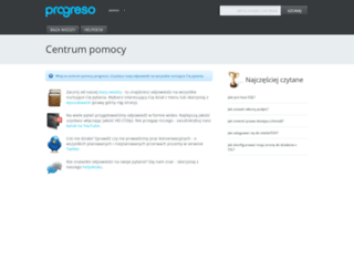 pomoc.progreso.pl screenshot